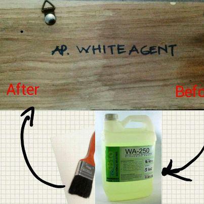 pemutih kayu, pencerah kayu, non peroksida bleaching