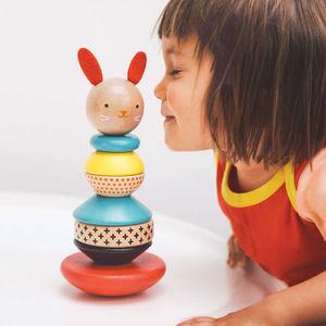 cat mainan kayu sni