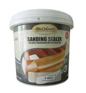 sanding sealer kayu water based, cocok diaplikasikan sebagai maincoat pada proses finishing natural transparan