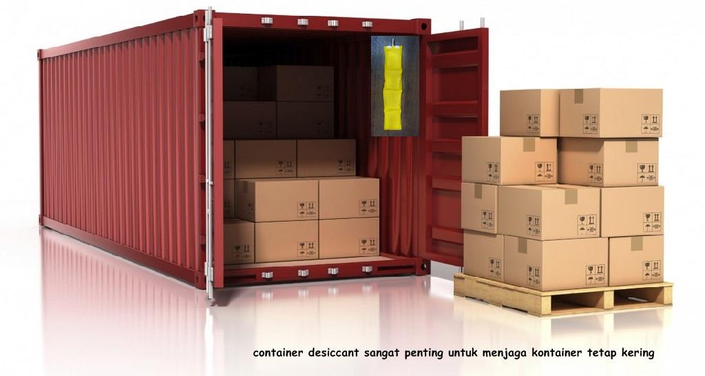 fungsi container desiccant adalah sebagai penyerap kelembaban pada kontainer